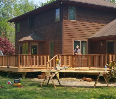 Deck Renovation ALmost Done Sweetwater